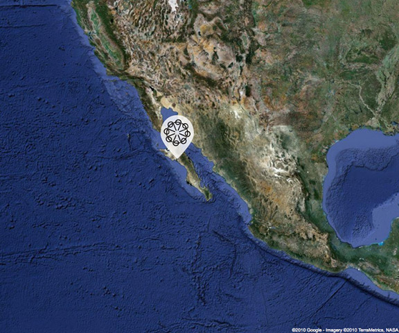 Google Map of Laguna San Ignacio